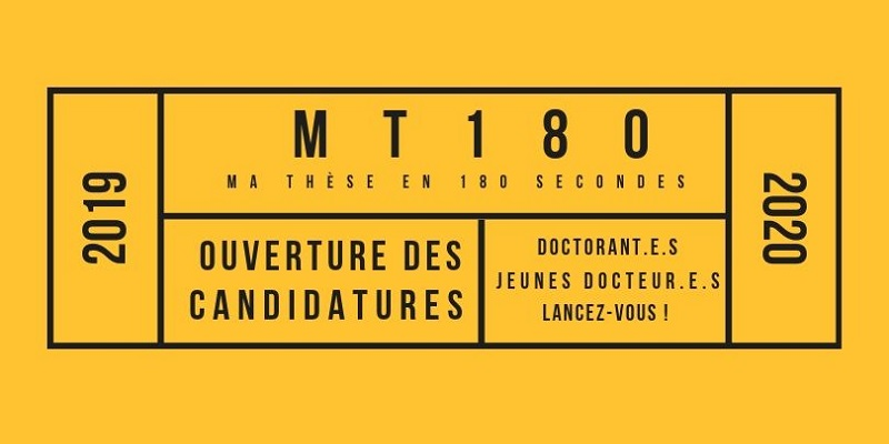 Ma thèse en 180 seconde (MT180)